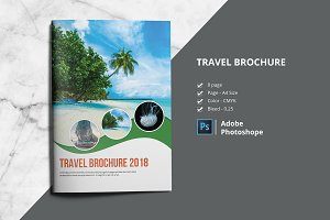 Travel Agency Brochure/Catalog V806