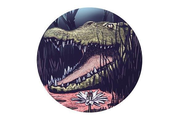 Crocodile Moon