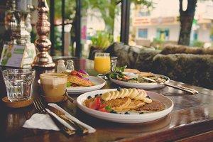 Breakfast or Brunch in a Cafe Bistro