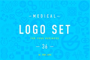 Medical Logo set 4.