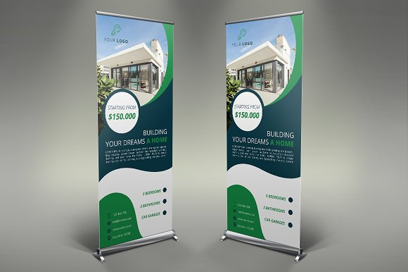Real Estate Roll Up Banner #119