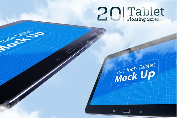 Tablet Floating Screens