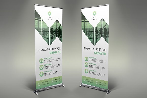 Business Roll Up Banner #121