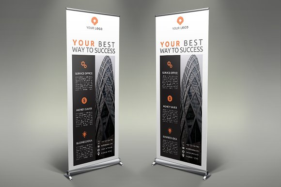 Business Roll Up Banner #122