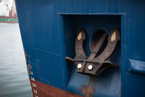 3 photo of harbor anchor ship