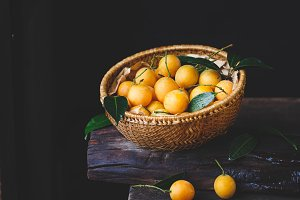 Marian plum fruits