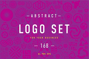 Abstract Logo set 5.