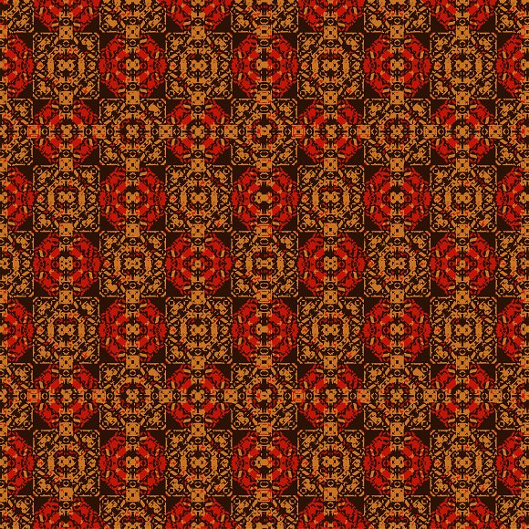 Colorful Boho Seamless Pattern