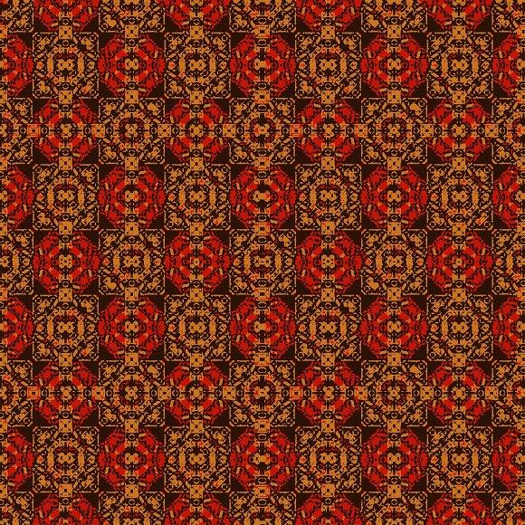 Colorful Boho Seamless Pattern