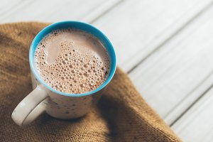 mug of hot cocoa