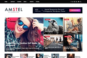 Responsive Magazine Wordpress Theme
