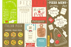 Pizza Menu Placemat