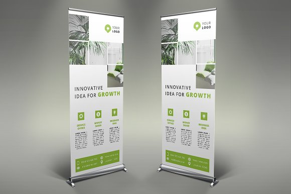 Business Roll Up Banner #123