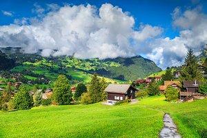 Grindelwald alpine village