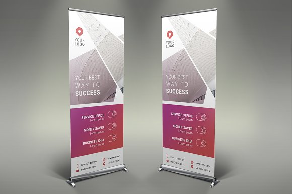 Business Roll Up Banner #124