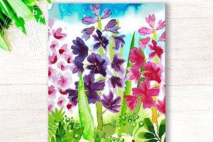 Printable cards&#x3B; Spring Garden