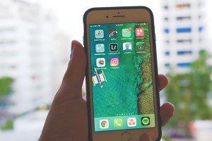 iPhone 8 Plus in Hand