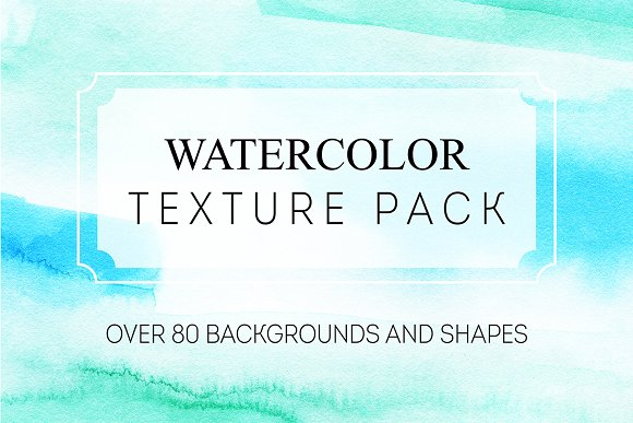 Watercolor Texture Pack