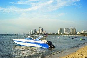 Beach view. Pattaya, Thailand