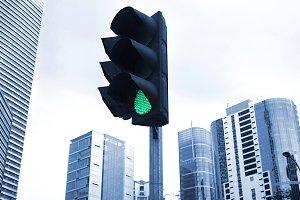 Traffic light, Kuala Lumpur