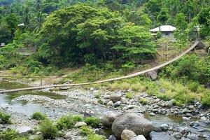 Rope bridge, Philippines