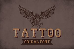 Tattoo Modern Label Typeface