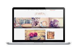 Zarya, Personal Wordpress Blog Theme