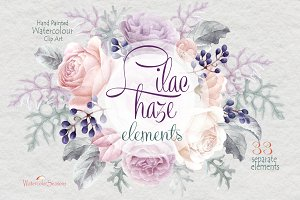 Lilac haze elements