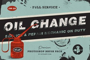 Oil Change | Photoshop Brushes