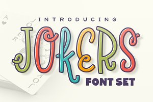 Jokers Font Set