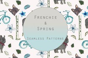 Frenchie & Spring