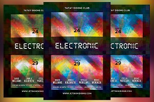 Electronic Club Flyer