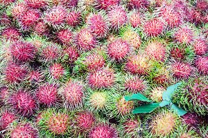 rambutan sweet delicious fruit