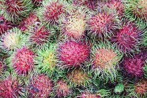 rambutan sweet delicious fruit