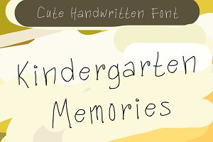 Kindergarten Memories (50% OFF)