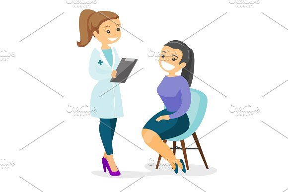 Doctor Consulting Male Patient In Office