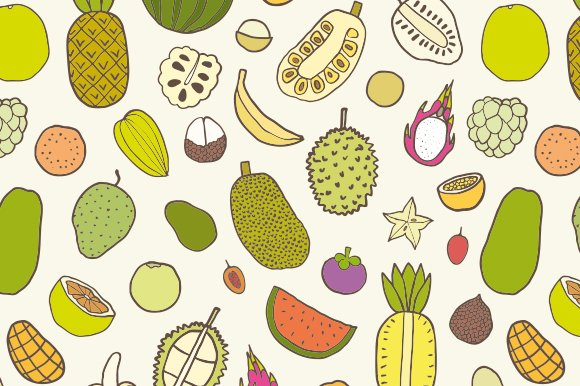 Tropical fruits in Objects - product preview 3