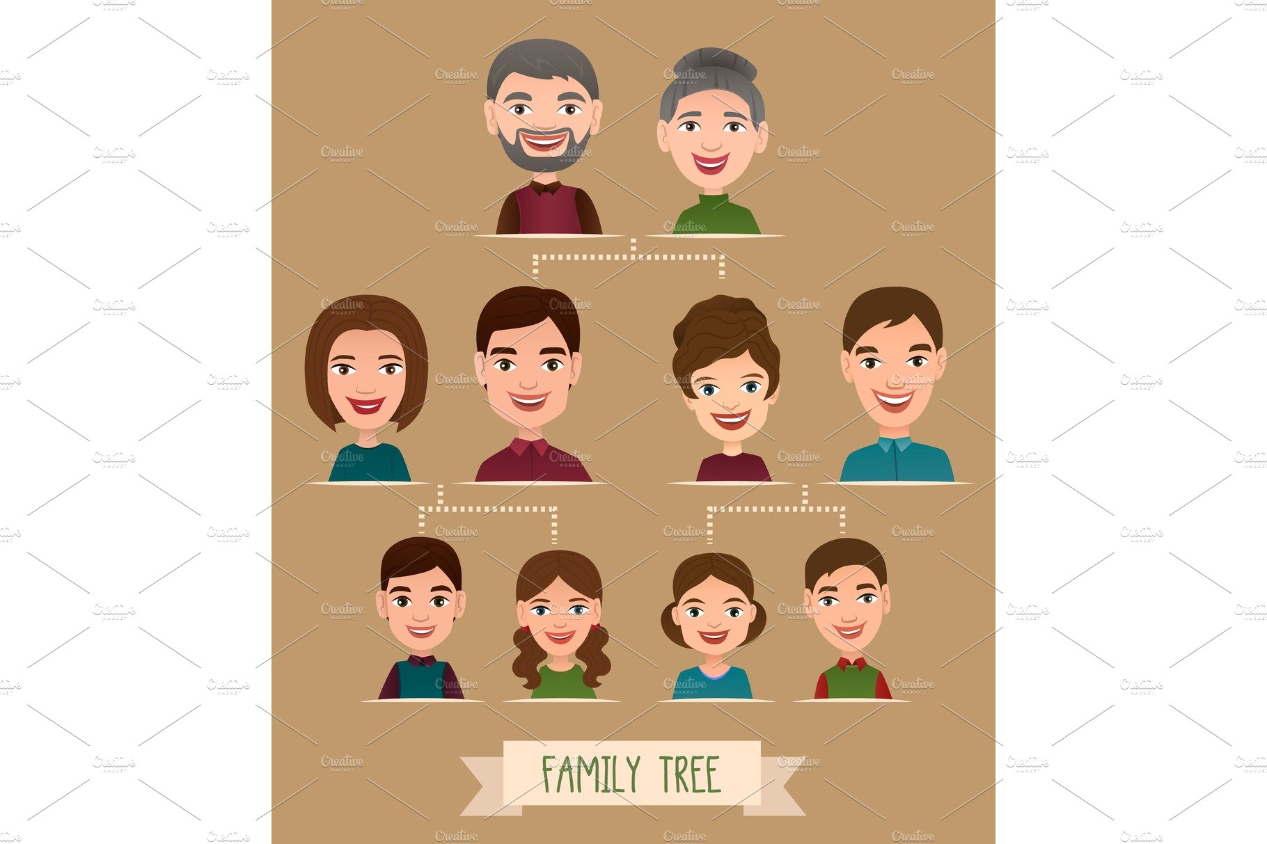 It's just an image of Dashing Photos Family Tree