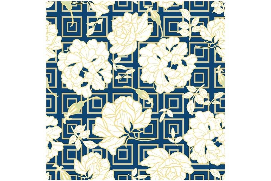 Peony Flower Pattern