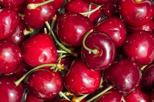 Cherries background