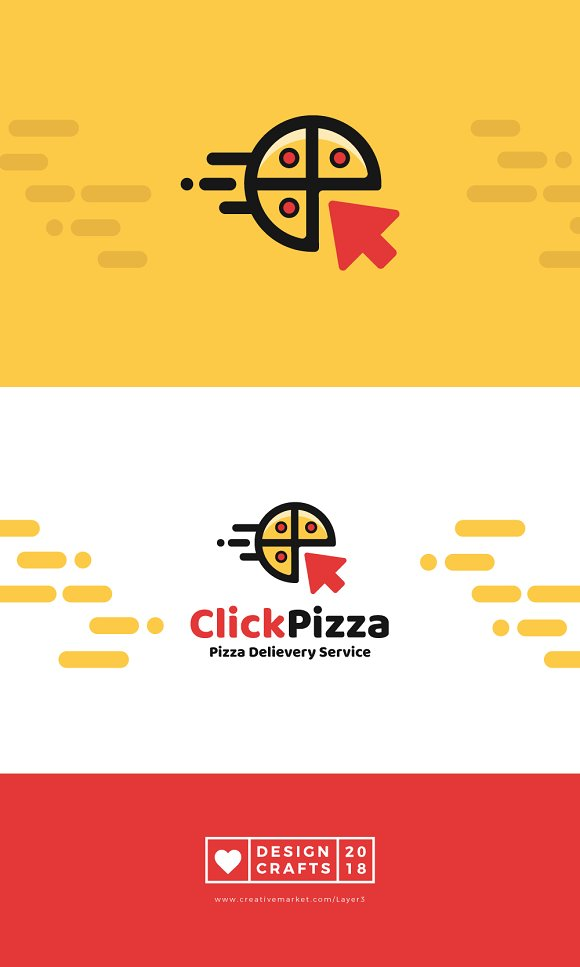Click Pizza Logo