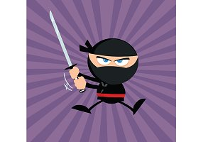 Flat Design Ninja Collection - 5