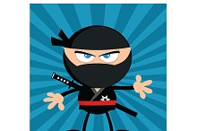 Flat Design Ninja Collection - 9