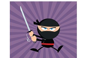Flat Design Ninja Collection - 10