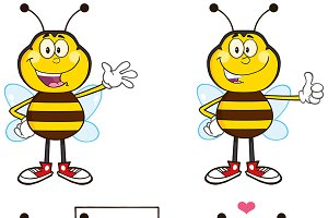 Bee Mascot Collection - 1