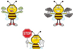 Bee Mascot Collection - 2