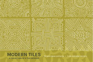 Full Modern Tile | Seamless Patterns