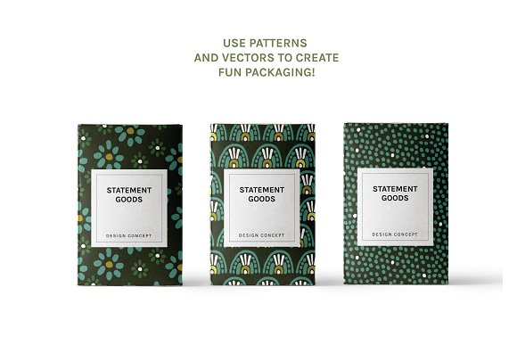 Full Modern Tile | Seamless Patterns in Patterns - product preview 1