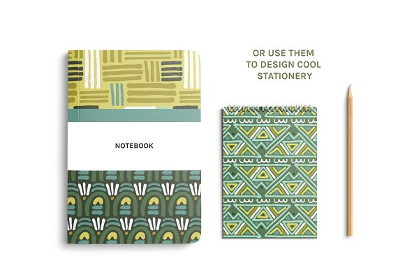 Full Modern Tile | Seamless Patterns in Patterns - product preview 2