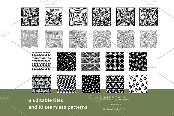 Full Modern Tile | Seamless Patterns in Patterns - product preview 7